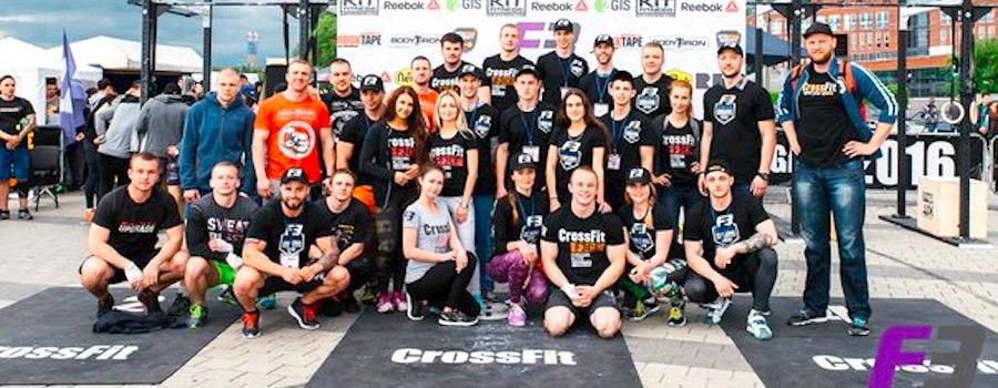 RockTape на F3 CrossFit Challenge 2016