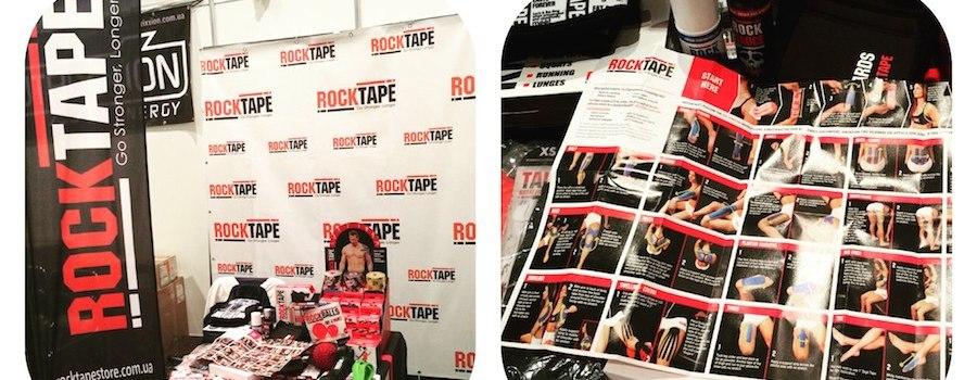 RockTape и Nova Poshta Marathon 2016