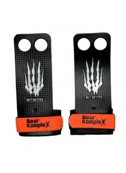 Накладки гимнастические для кроссфита Bear KompleX Carbon Grips 2 Holes